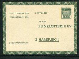 Bundesrepublik Deutschland / 1969 / Funklotterie-Postkarte Mi. FP 13 ** (18419) - BRD
