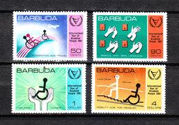 Barbuda   -  1981.  Anno Dell' Handicap. Year Of Handicap. Complete MNH Series - Handicap