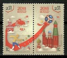 Brazil 2018 Brasil / FIFA World Football Cup Russia MNH Campeonato Mundial Fútbol Rusia / Cu13606  18 - Copa Mundial