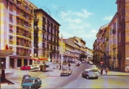 Gasoline Benzina Mobil Ad Avellino Via Due Principati  Anni '60 - Avellino