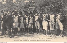 52-WASSY-FETE DU 9 JUILLET 1911-LA GARDE IMPERIALE-N°R2044-F/0289 - Wassy
