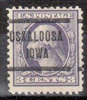 USA Precancel Vorausentwertung Preo, Locals Iowa, Oskaloosa 205, Perf. 11X11 - Vereinigte Staaten