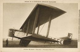 Aerocar Compagnie Aerienne Française  12 Places Bimoteur Biplan - 1919-1938: Between Wars