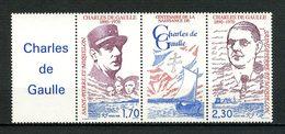 SPM MIQUELON 1990  N° 532A ** Neuf MNH Superbe C 2.30 € Célébrités Celebrities - De Gaulle Président Général - St.Pierre Et Miquelon