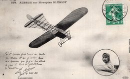 3215 Cpa Aviation - Aubrun Sur Monoplan Blériot - Piloten