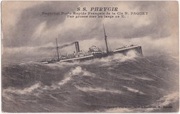 S.S. PHRYGIE. Paquebot Poste Rapide - Steamers