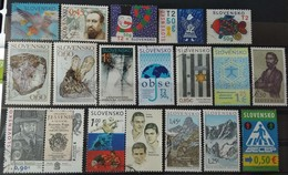 120 Used Postage Stamps Slovakia - Slowakije