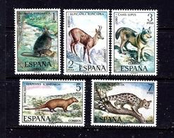 Spain 1729-33 MNH 1972 Animals - Espagne