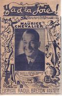"""Partition """"Ya De La Joie"""" Maurice Chevalier - Liederbücher"""