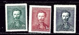 Czechoslovakia 246-48 MNH 1938 Set - Czech Republic