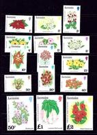 Ascension Is 274-88 MNH 1981 Flowers Definitive Set - Ascension