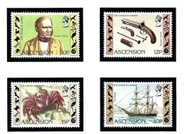 Ascension 305-08 MNH 1982 Charles Darwin - Ascension