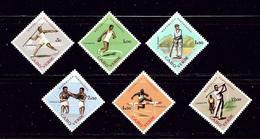 Cape Verde 320-25 MNH 1962 Sports  #2 - Cape Verde