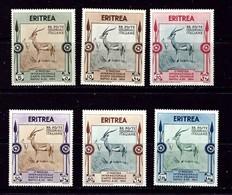Eritrea 175-80 Hinged 1934 Set - Eritrea