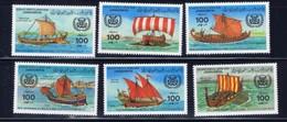 Libya 1090-95 NH 1983 Ancient Ships SCV 2015 $12.00 - Libya