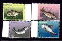 Malawi 217-20 MNH 1974 Game Fish - Malawi (1964-...)