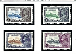 Seychelles 118-21 MNH 1935 KGV Silver Jubilee - Seychelles (1976-...)