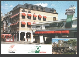 Bastogne - Bistro Léo - Carte Publicitaire - Bastenaken