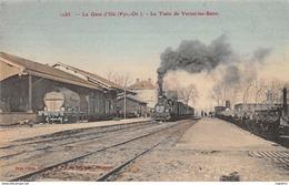 66-LA GARE D ILLE-LE TRAIN DE VERNET LES BAINS-N°R2046-E/0359 - Frankrijk