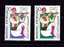 Tunisia 512-13 Lightly Hinged 1968 Musician - Tunisia