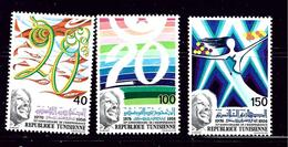 Tunisia 675-76 MH 1976 Set - Tunisia