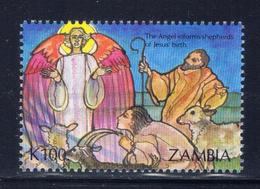 Zambia 589 MNH 1992 Angels And Shepherds - Zambia (1965-...)