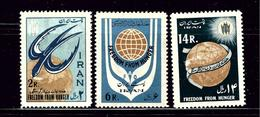 Iran 1240-42 MH 1963 Set - Iran
