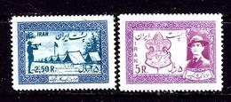 Iran 1052-53 MNH 1956 Boy Scouts - Iran