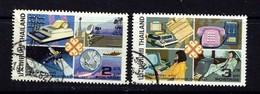 Thailand 1045-46 Used 1983 World Communications Year - Thailand