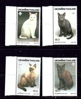 Thailand 1617-20 MNH 1995 Cats - Thailand