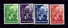 South Vietnam 79-82 MNH 1958 Set - Vietnam