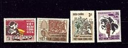 South Vietnam 294-97 MNH 1966 Set - Vietnam