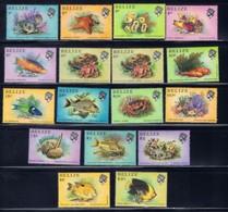Belize 699-714 NH 1984 Marine Life SCV 2017 $23.00 - Belize (1973-...)
