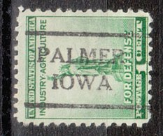 USA Precancel Vorausentwertung Preo, Locals Iowa, Palmer 716 - Vereinigte Staaten