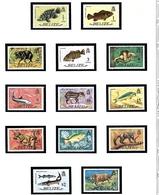 Belize 327-39 MNH 1974 Definitive Set (Fish And Animals) - Belize (1973-...)