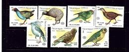 Nicaragua 1813-19 MNH 1990 Birds - Nicaragua