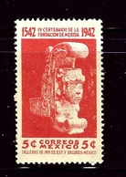 Mexico 769 MNH 1942 Issue - Messico