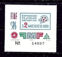 Mexico C374 MNH 1970 Issue - Mexico