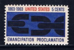 U.S. 1233 NH 1963 Emancipation Proclamation - United States