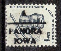 USA Precancel Vorausentwertung Preo, Locals Iowa, Panora 716 - Vereinigte Staaten