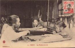 Viet-Nam, Tonkin, Hanoi, Les Brodeurs De Soie       (bon Etat) - Vietnam