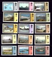 Falkland Is Dep 1L38-52 MNH 1980 Definitive Set - Falkland Islands