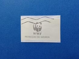 VIGNETTA ETICHETTA BOLLINO TARGHETTA CINDERELLA PROTEZIONE DELLA NATURA PANDA WWF - Erinnofilia