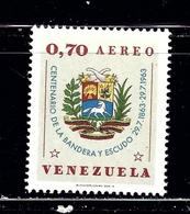 Venezuela C831 MNH 1963 Issue - Venezuela