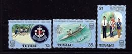 Tuvalu 204-06 NH 1983 Boys Brigade - Tuvalu