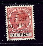 Netherlands 176 Used 1928 Queen Wilhelmina - Netherlands