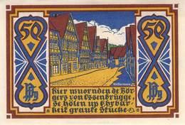 50 Pfg. Notgeld Stadt Osnabrück UNC (I) - Lokale Ausgaben