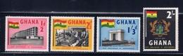 Ghana 17-20 NH 1958 Set - Ghana (1957-...)
