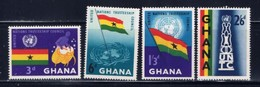 Ghana 67-70 NH 1959 Set - Ghana (1957-...)