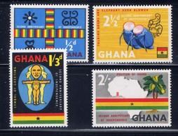 Ghana 42-45 NH 1959 Set - Ghana (1957-...)